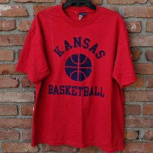 Vintage Kansas Basketball t-shirt